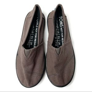Toms Brown Causal Kids Shoes